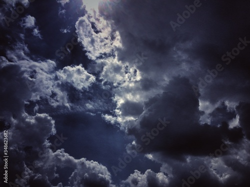 Fototapety, obrazy: Low Angle View Of Cloudy Sky