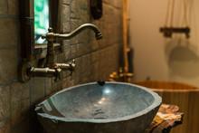 Rustic Bathroom Sets Interior