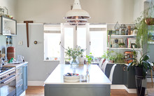 Pendant Lights Over Domestic K...
