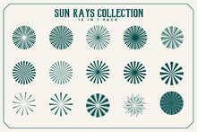 Sun Rays And Beams Collection ...