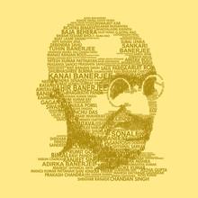 Illustration Of Mahatma Gandhi