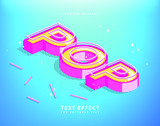 Pinky Pop Vector Editable Template Text