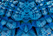 3D Render. Fractal Image Of A ...