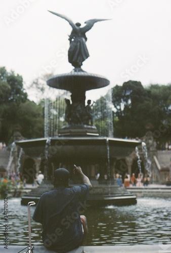 Photo Bethesda Fountain In Central Park