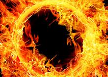 抽象的な火炎
