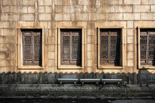 Ancient Wooden Windows In China