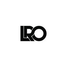Lro Letter Original Monogram L...