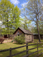 Log Cabin At Cherokee Heritage Center