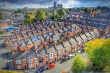 Tilt Shift Image Of Residential District