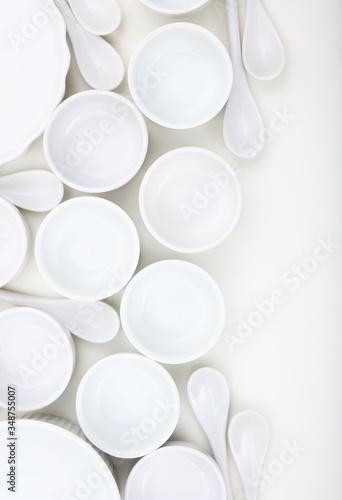 Dishware concept Wallpaper Mural