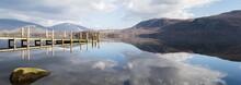 Derwent Water Jetty Panorama