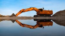 Excavators Are Digging The San...