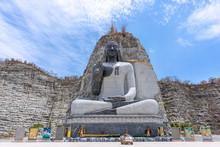 Stone Buddha Statue At Wat Kha...