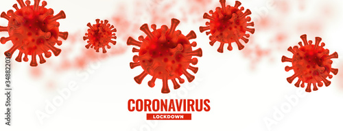 Fototapeta Abstract CoronaVirus BackgroundChina epidemic coronavirus 2019-nCoV in Wuhan, Novel Coronavirus Alert outbreak in China. Virus Covid 19-NCP. Spread of the novel coronavirus Background obraz na płótnie