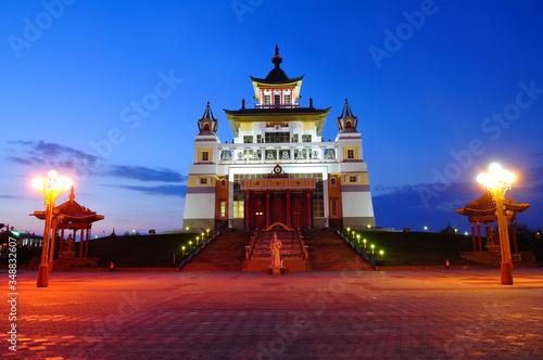 Photo Temple Golden Abode of Buddha Shakyamuni