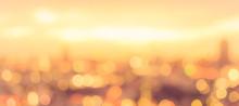 Rooftop Party Blur City Backgr...