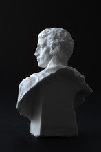 Brutus Plaster Figure In Black...