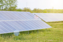 Solar Panel In Outdoor Solar P...
