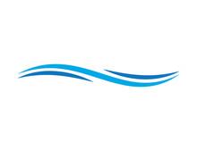 Abstract Swoosh Logo Design Te...