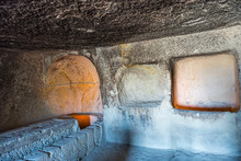Fresco Inside The Caves And Ch...