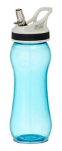 Turquois Drinking Bottle / Flask With Clipping Path