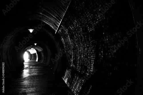 Fotografia Light At End Of Tunnel