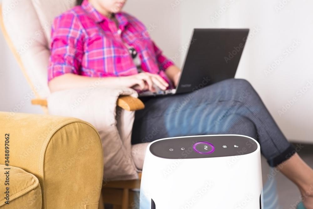 Fototapeta Air purifier for your home interior