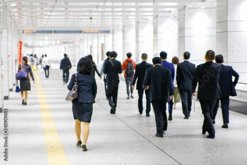 Photo 通勤時の人混み