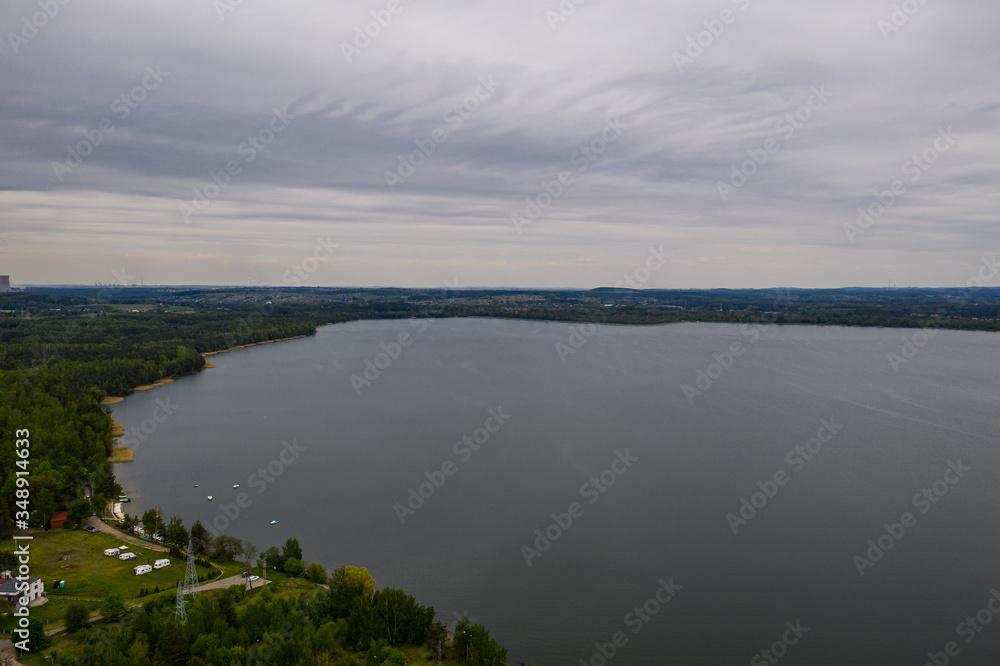 Fototapeta Krajobraz- Jezioro dziećkowice- IMIELIN
