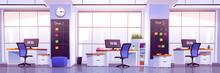 Modern Office Interior. Busine...