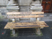 A Bench In Cape Town During Th...