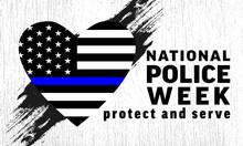 National Police Week Backgroun...