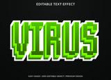 Retro Pixel Vector Text Effect
