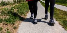 Landscape, Coast, Countryside, Family, Walk, Walk, Path, Hiking Trail, Woman, Girl, Child, Walk, Outdoors, Opal Coast, North, Boulogne-sur-mer, Cape, Calais, Channel, English Channel , Dawn, Sunrise,