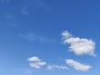 Atmospheric Phenomena. Blue sky and white clouds