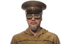 Portrait Of Soviet Soldier Vet...