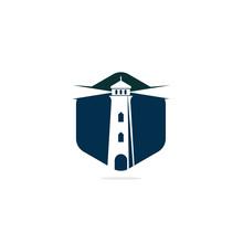 Lighthouse Vector Logo Design....