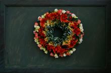 Flower, Wreath, Vase, Color, S...