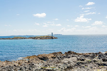 Rocky Shoreline At Inishbofin ...