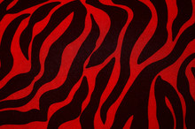 Seamless Pattern With Red And ...