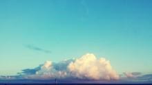 Majestic Cloudscape Over Sea
