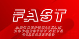 Clean Fast Font Type Vector