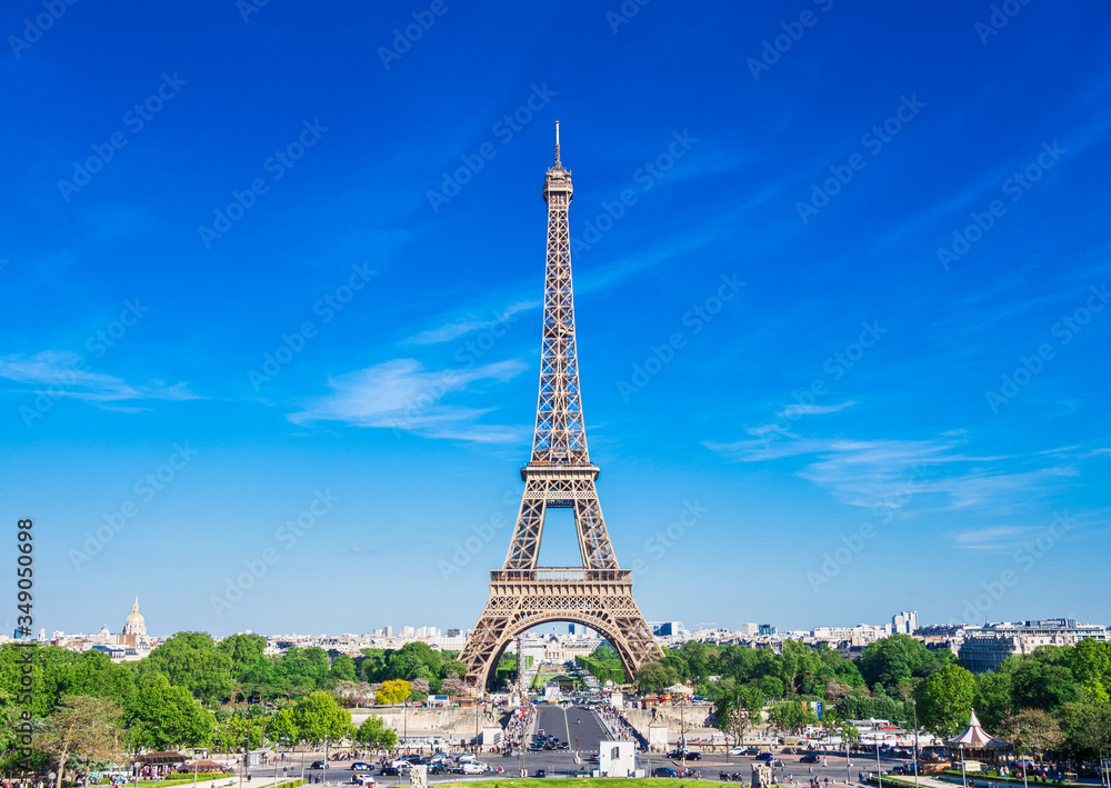 Fototapeta パリ エッフェル塔