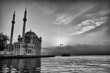 Ortakoy Mosque And Bosphorus B...