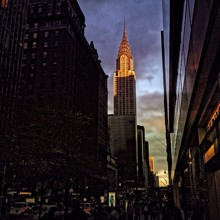 Low-angle View Of Chrysler Building