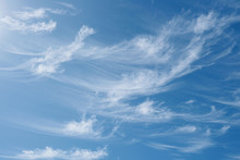 Beautiful Wispy Cirrus Clouds ...