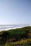 Fototapeta Na ścianę - Scenic View Of Sea Against Blue Sky
