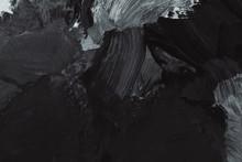 Black Paintbrush Stroke Textur...