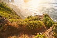 Surfing Adventure At Sand Dollar Beach Big Sur California