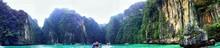 Panoramic View Of Phi Phi Island